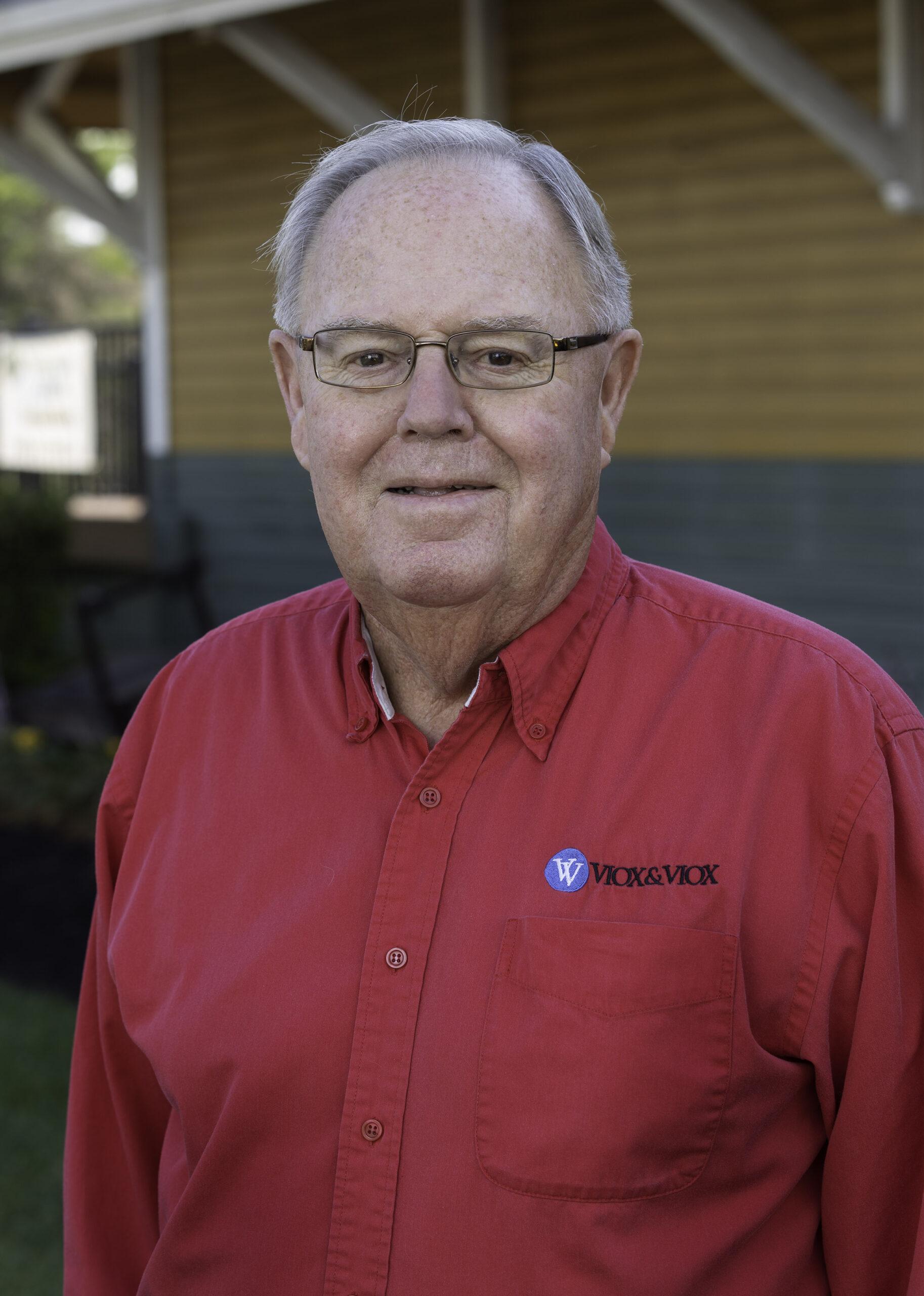 Jim Viox : Professional Civil Engineer, Principal & President