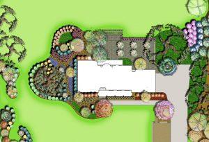 Private Residence Rain Garden